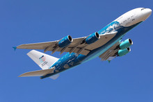 JC Wings HiFly Airbus A380 'Save the Coral Reefs' livery 1/400