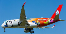 Aviation400 Sichuan Airlines Airbus A350-900XWB Panda Route Livery B-306N 1/400 AV4044