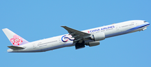 Aviation400 China Airlines Boeing 777-300ER 60TH Anniversary B-18006 1/400 AV4054