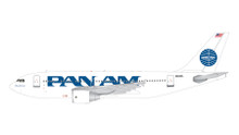 "GeminiJets Pan Am Airbus A310-300 N823PA ""Clipper Golden Light"" 1/200 G2PAA859"