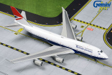 GeminiJets British Airways Boeing 747-400 G-CIVB (Retro Negus Livery) 1/400