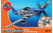 Airfix Quickbuild D-Day P-51D Mustang J6046