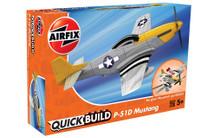 Airfix Quickbuild Mustang P-51D J6016