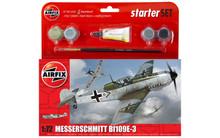 Airfix Messerschmitt Bf109E-3 Starter Set 1/72 A55106