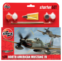 Airfix North American Mustang IV Starter Set 1/72 A55107