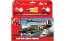 Airfix Hawker Hurricane MkI Starter Set 1/72 A55111