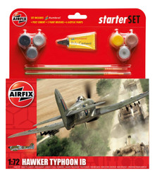 Airfix Hawker Typhoon Ib Starter Set 1/72 A55208