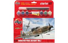 Airfix Boulton Paul Defiant Mk.I Starter Set 1/72 A55213