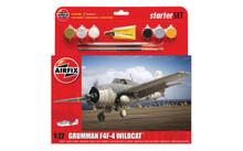 Airfix Grumman F4F-4 Wildcat Starter Set 1/72 A55214