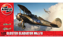 Airfix Gloster Gladiator Mk.I/Mk.II 1/72 A02052A