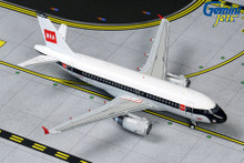 GeminiJets British Airways Airbus A319 G-EUPJ BEA Retro Livery 1/400