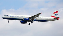 Phoenix British Airways Airbus A321 G-MEDU 1/400