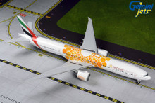 GeminiJets Emirates Boeing 777-300ER A6-EPO Orange Expo 2020 1/200 G2UAE800