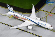 GeminiJets El Al Boeing 787-9 Dreamliner 4X-EDD 'Las Vegas/San Francisco' Livery 1/400 GJELY1882