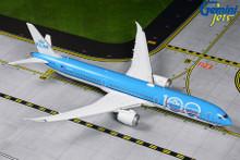 GeminiJets KLM Boeing 787-10 Dreamliner PH-BKA Extended Flaps '100 Years' Livery 1/400 GJKLM1890F