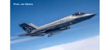 "Herpa Royal Netherlands Air Force Lockheed Martin F-35A Lightning II 323 Squadron ""Diana"", Edwards AB - 70th Anniversary 1/200"