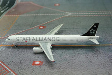 JC Wings Asiana Airlines Airbus A321 'Star Alliance 15 Years' HL7730 1/400