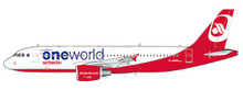 JC Wings Air Berlin Airbus A320 (OneWorld Livery) D-ABHO 1/400