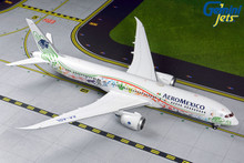 "GeminiJets AeroMexico Boeing 787-9 XA-ADL ""Quetzalcoatl"" Livery 1/200 G2AMX838"