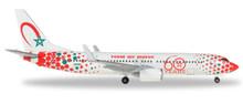 "Herpa Royal Air Maroc Boeing 737-800 ""60th anniversary"" - CN-RGV 1/500 531153"