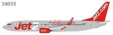 "NG Models Jet2 Boeing 737-800/w G-JZBL <with ""Friendly Low Fares"" 1/400 NG58035"