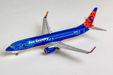 NG Models Sun Country Airlines Boeing 737-800/w N804SY <delivery colors> 1/400 NG58037