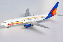 """NG Models Jet2 Holidays Boeing 737-800/w G-DRTB """"Package holidays you can trust"""" 1/400 NG58039"""