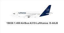 Panda Models Lufthansa Airbus A319 D-AILB 1/400
