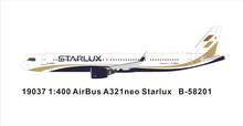 Panda Models Starlux Airlines Airbus A319 B-58201 1/400