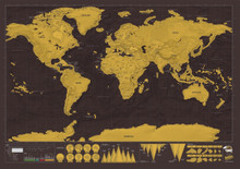 Scratch Map for Travellers