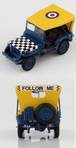 HobbyMaster Jeep Willys RAF 'Follow me' 1/48