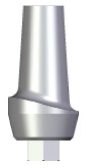 Aesthetic Abutment - 2mm Collar - 4.5 platform