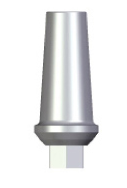 Straight Abutment - 1mm Collar - 3.5 platform