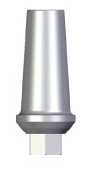Straight Abutment - 1mm Collar - 4.5 platform