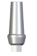 Straight Abutment - 2mm Collar - 3.5 platform