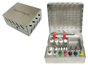 Basic Surgical Kit for Implant Part implants