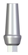 Straight Abutment - 2mm Collar - 4.5 platform