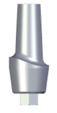Aesthetic Abutment - 4mm Collar - 4.5 platform