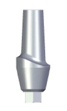 Aesthetic Abutment - 4mm Collar - 3.5 platform