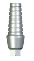 Straight Abutment with Retention - 3mm Collar - 3.5 platform
