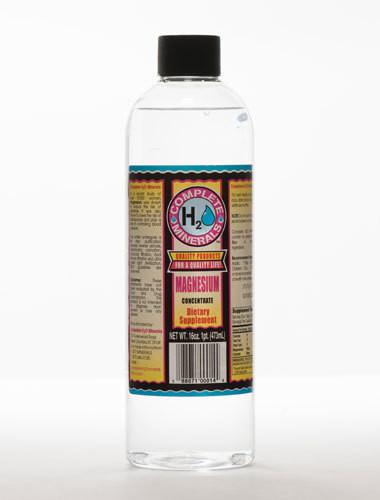 Magnesium Pt H2O