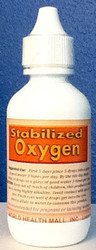 Stabilized Oxygen comes in a 2 ounce bottle.