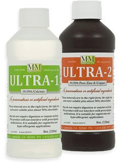 Ultra-1 and -2 Combo kit includes one 8 ounce Ultra-1 and one 8 ounce Ultra-2 bottles.