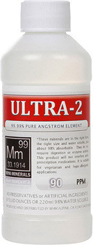 Ultra-2 comes in a 8, 16 or 128 ounce bottles.