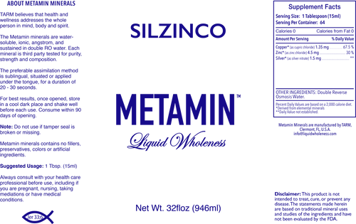 SILZINCO comes in 16, 32 or 128 ounce sizes, just right for your personal needs.