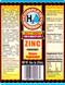 H2O Zinc Pint Size Label