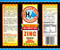 H2O Zinc Quart Size Label