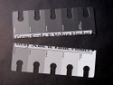 Cut the Gray Scale in Two to Use as a Long Strip When Painting
