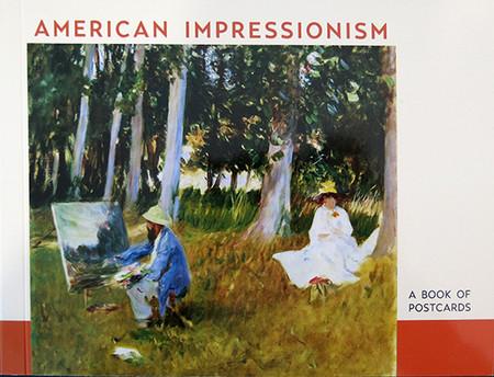 American Impressionism Book of Postcards
