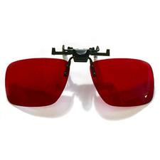 Clip-On Red Lens Value Finder Glasses